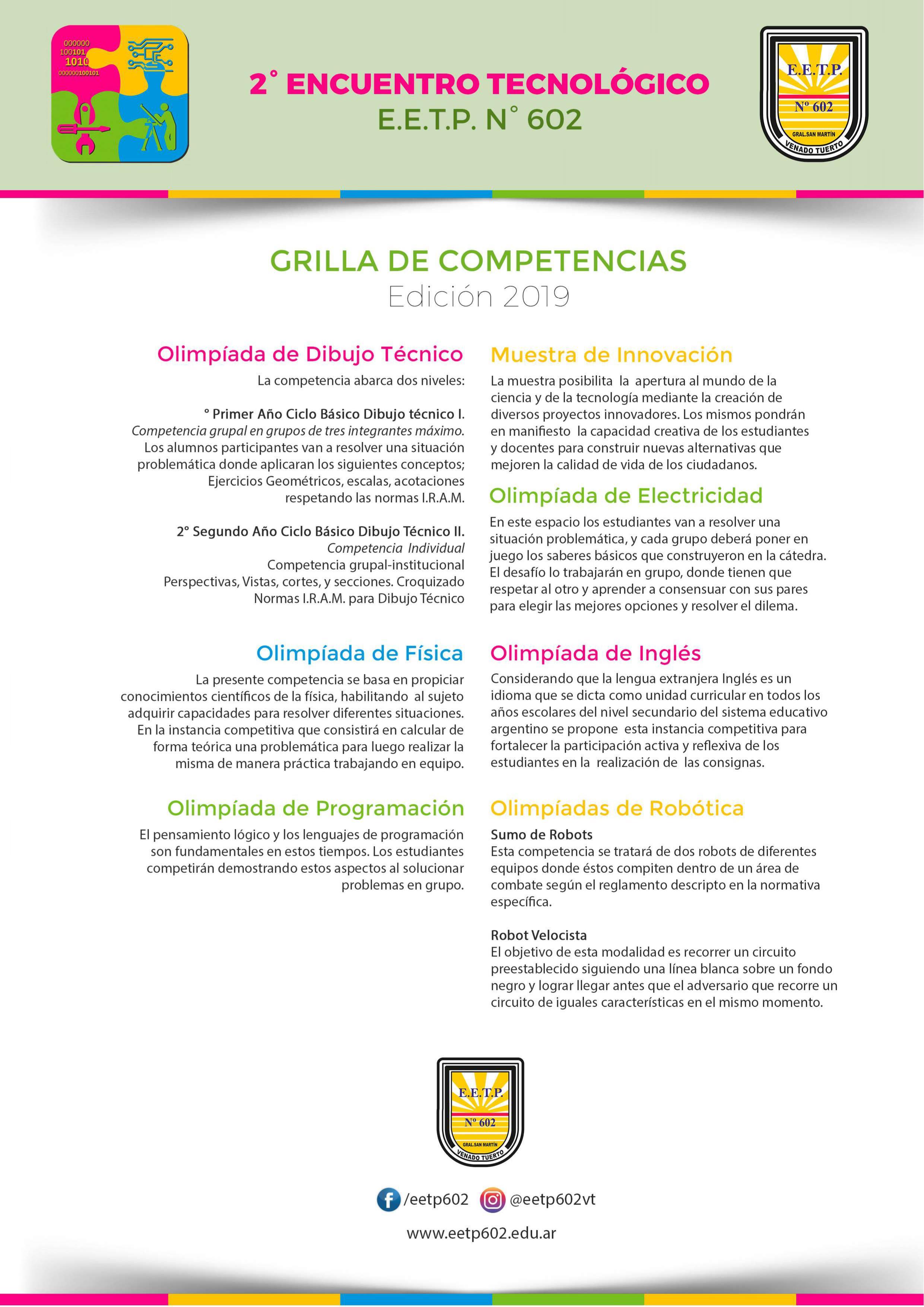 2do_Encuentro_Tecnologico_EETPN602_2019_Web